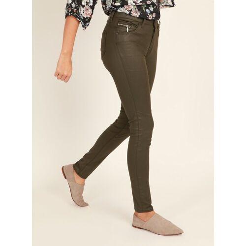 Mavi Skinny-fit-Jeans »ADRIANA« Gewachste Hose