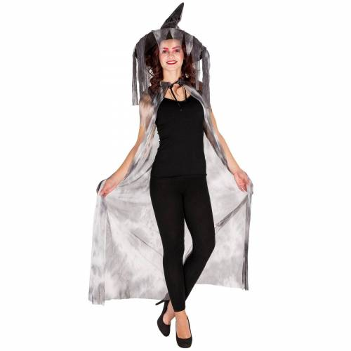 tectake Hexen-Kostüm »Hexen Umhang mit Spitzhut«