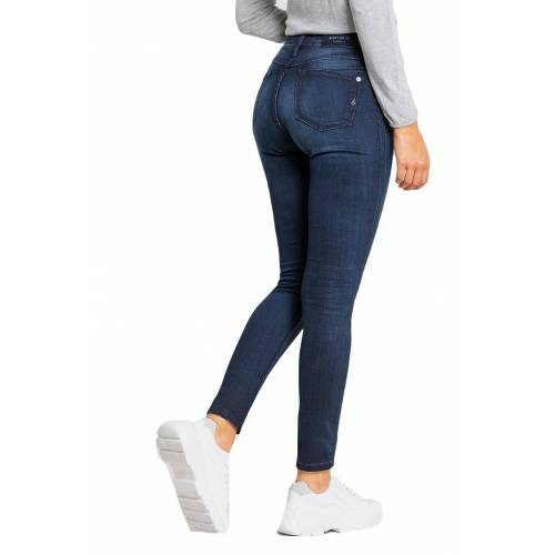 BLUE FIRE Jeans mit stylishem High-Waist-Schnitt »Lara«, 1351 light used