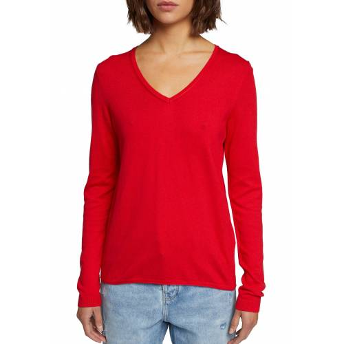 edc by Esprit Strickpullover, rot