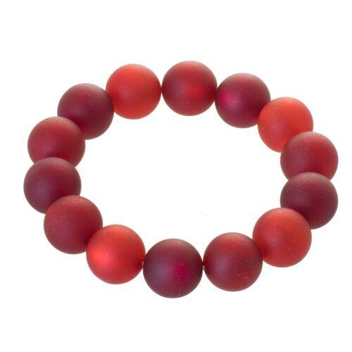 Bella Carina Armband »Polaris rot«, Polaris Perlen Armband rot