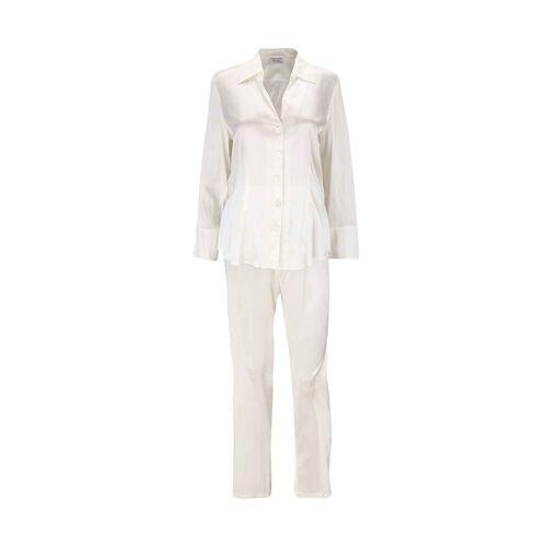 Eva B.Bitzer Pyjama »Seiden-Pyjama«, champagner