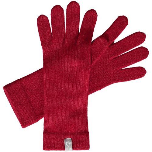 Fraas Strickhandschuhe »Kaschmirhandschuhe«, rot