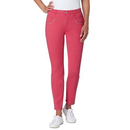 Ambria Stretch-Jeans, koralle