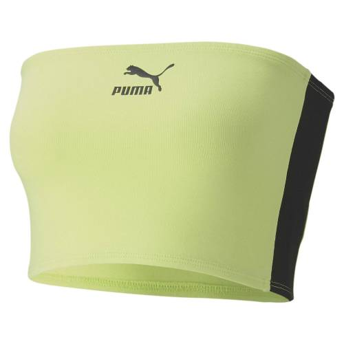 Puma T-Shirt »Damen Bandeau Top«, grün