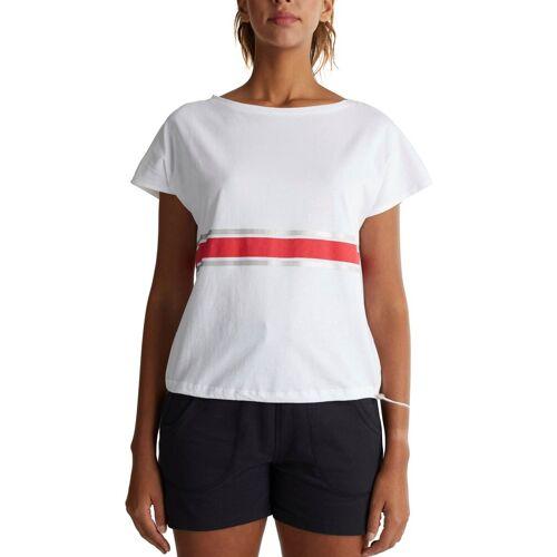 esprit sports T-Shirt mit regulierbarer Saumweite