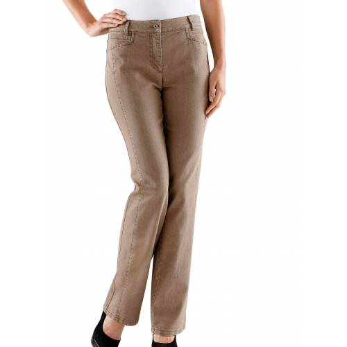 Cosma Gerade Jeans, taupe