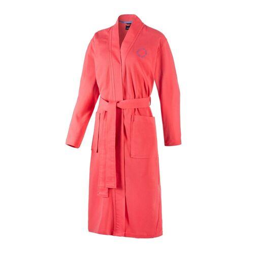 Joop! Bademantel »Damen Bademantel - Kimono, Logo, Baumwolle«, , Pink