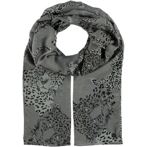 Fraas Modeschal »Polyester Schal«, grau