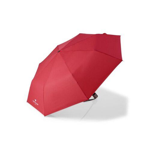 TOM TAILOR Taschenregenschirm »Regenschirm«, rot