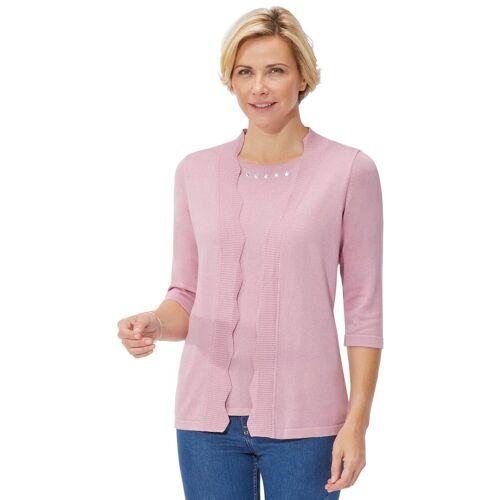 Classic 3/4 Arm-Pullover, altrosa-rosé