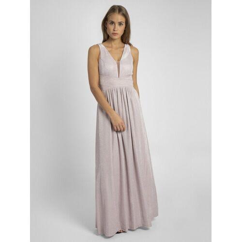 Apart Abendkleid in Empire Stil, rosa