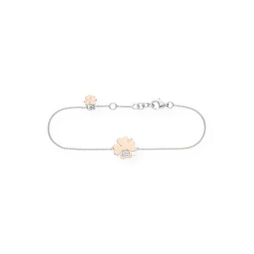 JuwelmaLux Armband »Kleeblatt Armband«