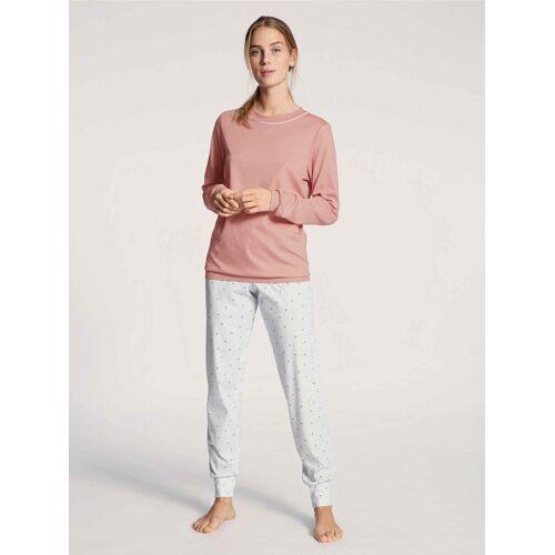 CALIDA Pyjama »Bündchen-Pyjama« (2 tlg) Made in Europe