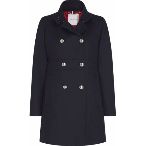 Tommy Hilfiger Wollmantel »WO BLEND FUNNEL COAT«