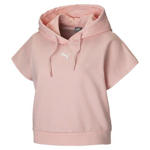 Puma Sweater »Damen Kurzärmliger Hoodie«, rosa