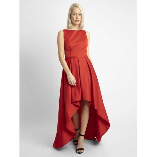 Apart Abendkleid aus Satin, rot