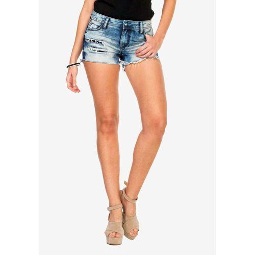 Cipo & Baxx Shorts im angesagten Used-Look