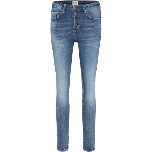 MUSTANG Jeans Hose »Mia Jeggings«, blau-5000775
