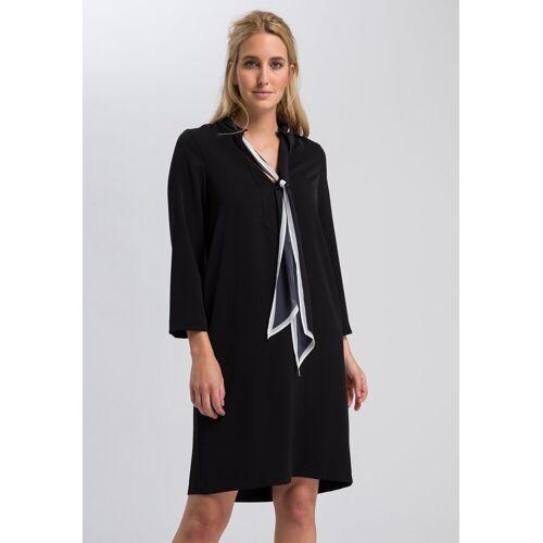 Marc AUREL A-Linien-Kleid mit bedrucktem Schal