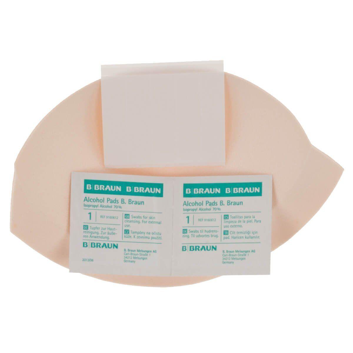 Miss Perfect BH-Einlagen »W2G90000-99999«, Selbstklebende BH Cups und BH-Softschalen (auch als Push-up) zum Einnähen oder Einlegen, Ersatzklebestreifen inkl. Alkoholpads