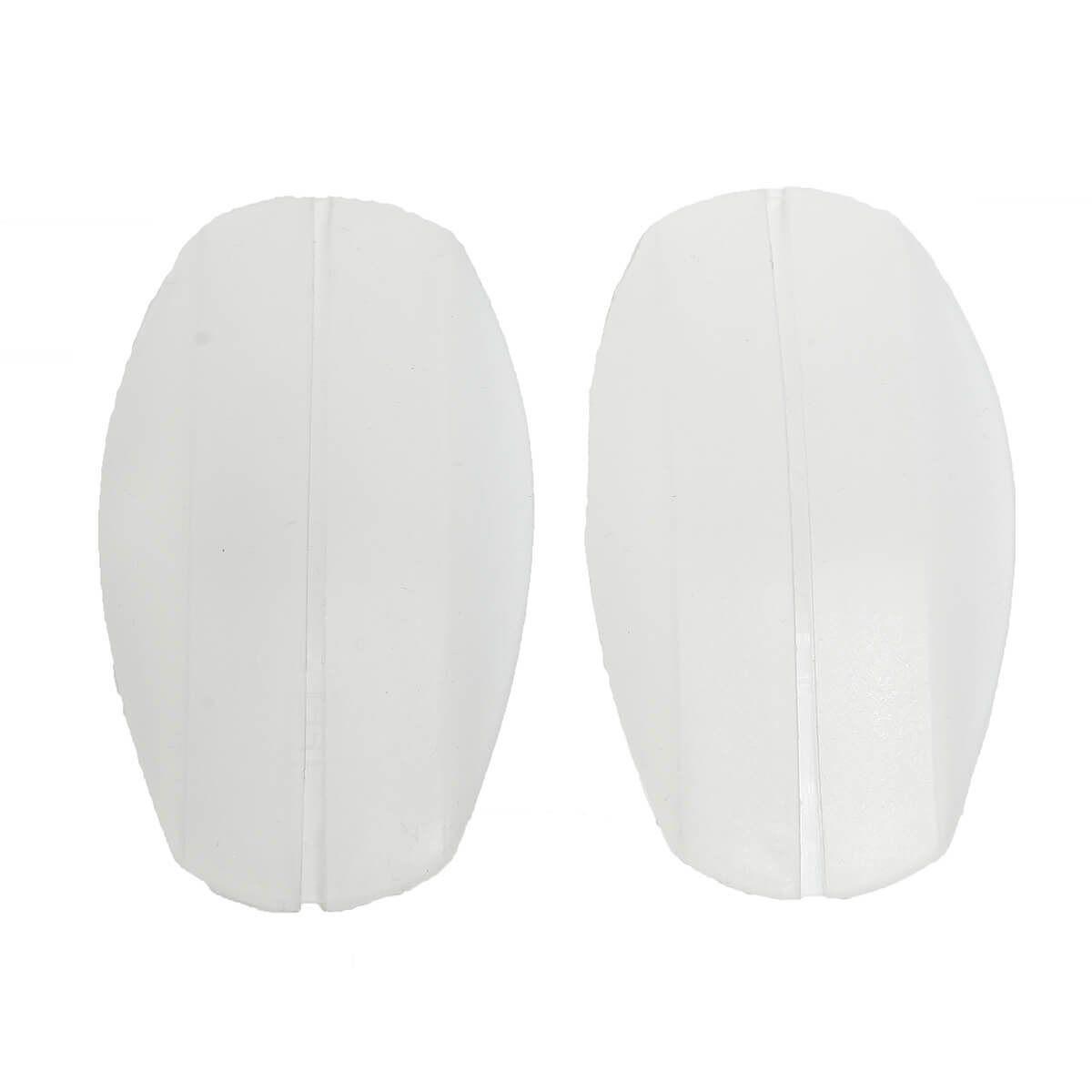 Miss Perfect BH-Träger »W2G400023456710«, Trägerpolster Komfort Baumwolle oder Silikon in Schwarz Weiß Haut Transparent, auch als Set, Transparent