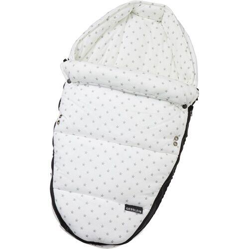 Gesslein Babywanne »Baby Nestchen, weiß Sterne«, für Kinderwagenwannen, Tragetaschen, Babyschalen und den Sportwagensitz des Kinderwagens