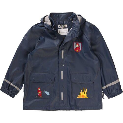 Playshoes Regenjacke »Kinder Regenjacke Feuerwehr für Jungen«