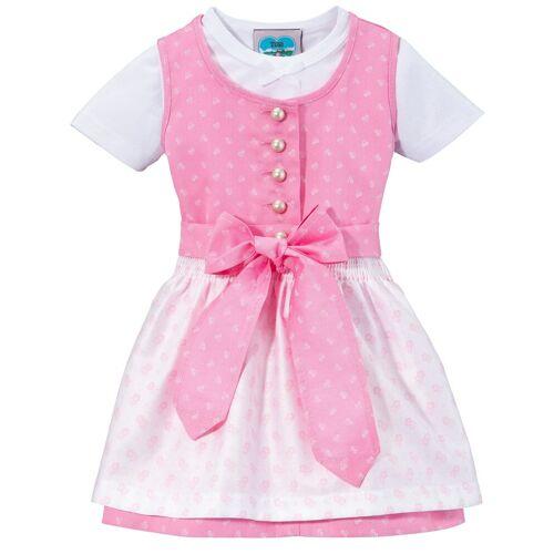 Turi Landhaus Turi Landhaus Dirndl (3-tlg) Baby, mit Jerseyshirt