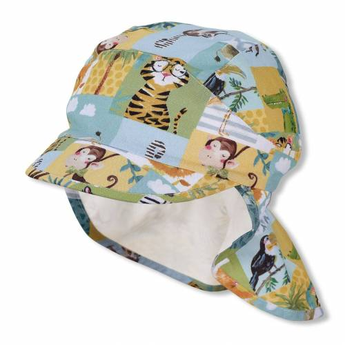 Sterntaler® Schirmmütze Schirmmütze mit Nackenschutz