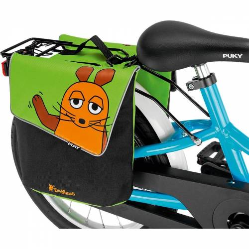 Puky Fahrradtasche »Doppeltasche DT 3 pink«, grün/orange