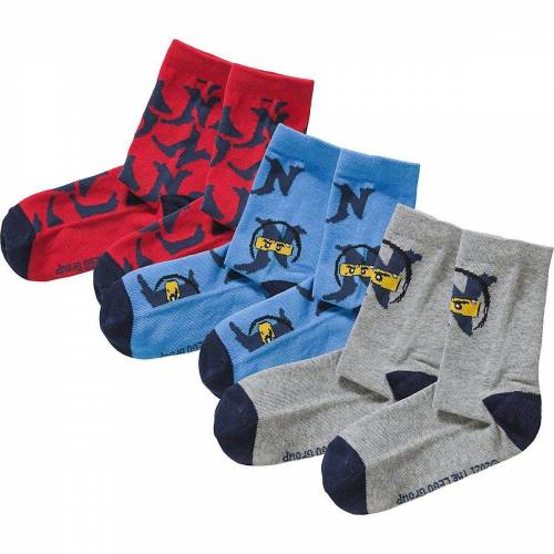 Lego Socken »LEGO Ninjago Socken 3er Pack für Jungen«