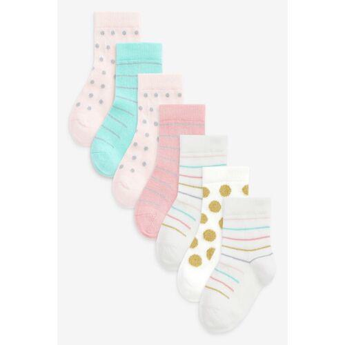 Next Socken »Socken mit Punkten und Streifen im 7er-Pack« (7-Paar)