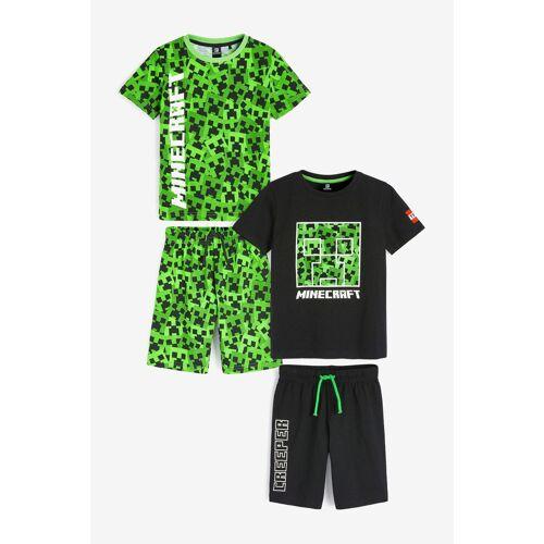 Next Pyjama »Kurze Pyjamas, 2er-Pack« (4 tlg)