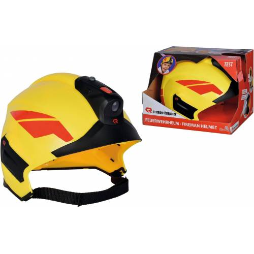 SIMBA Spielzeug-Helm »Feuerwehrhelm Rosenbauer«, mit Licht
