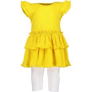 Blue Seven Baby Set T-Shirt+Capri für Mädchen, gelb