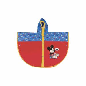 p:os Regenponcho Mickey Mouse, gr. 94-108