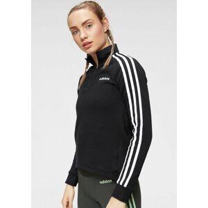 Adidas Performance Sweatshirt »ESSENTIALS 1/4 FL TT«, schwarz