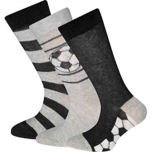 Ewers Socken »Socken 3er-Pack für Jungen, Fußball«