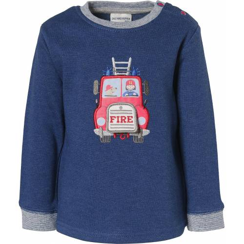 Salt & Pepper Sweatshirt »Baby Sweatshirt für Jungen, Feuerwehr«