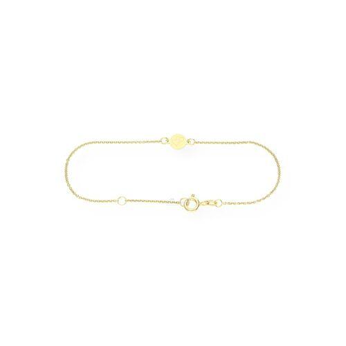 JuwelmaLux Armband »Armband Doppelherz 333/000 8 Karat Gold 18 cm«
