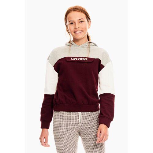 Garcia Sweater mit Klapptasche