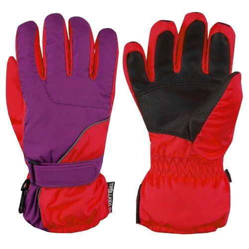 TROLLKIDS Skihandschuhe »Troll« Wasserdicht, Violett / Rot