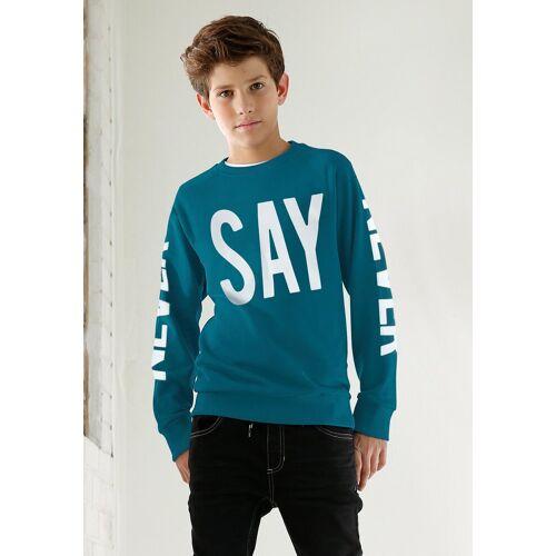 Arizona Sweatshirt »NEVER SAY NEVER« Druck