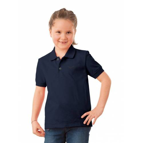 Trigema Poloshirt in Piqué-Qualität, navy