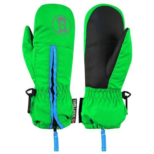 TROLLKIDS Skihandschuhe »Troll« Wasserdicht, Hellgrün / Blau