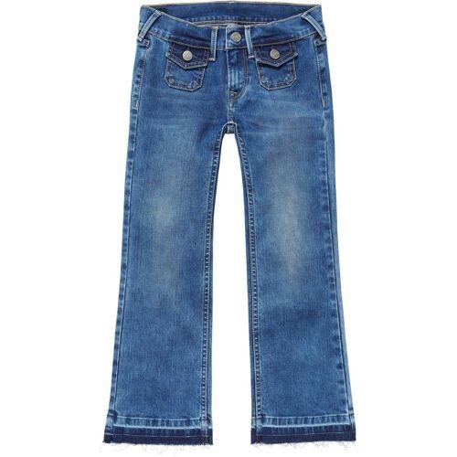 Pepe Jeans Weite Jeans »KICKI MINI« mit offenem Saum