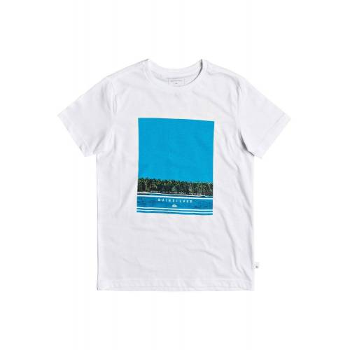 Quiksilver T-Shirt »Jetlag Dream«, weiß