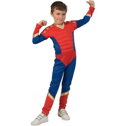 Funny Fashion Kostüm »Jumpsuit Superheld«