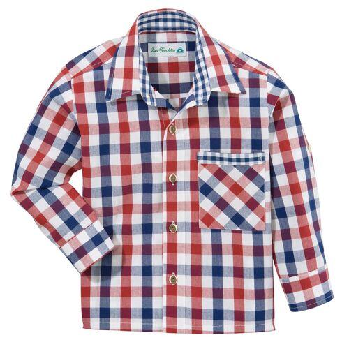 Isar-Trachten Trachtenhemd in Karo-Optik
